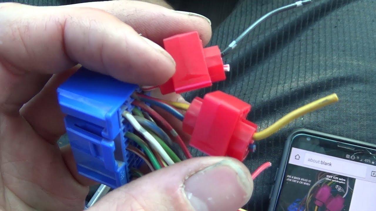 2003 honda crv starter wiring diagram 5 pin pci express adapter acura ckf bypass trick in depth youtube