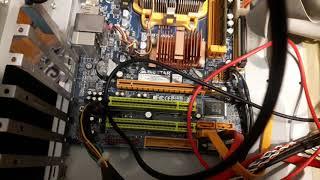 Сломал USB ЮСБ разъём -меняй материнскую плату !!! Классика жанра ) часть 4