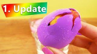 Einhorn Eier 1.Update | Drei Eier mit Überraschungs Einhörnern | Unicorn Groweggs | Super niedlich