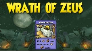 Wizard101: New Spell: Wrath of Zeus