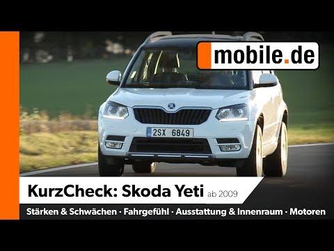 Skoda Yeti Ab 2009 | Mobile.de KurzCheck
