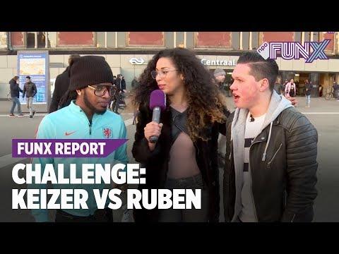 Challenge Keizer vs Ruben Annink: wie deelt de meeste shots uit?