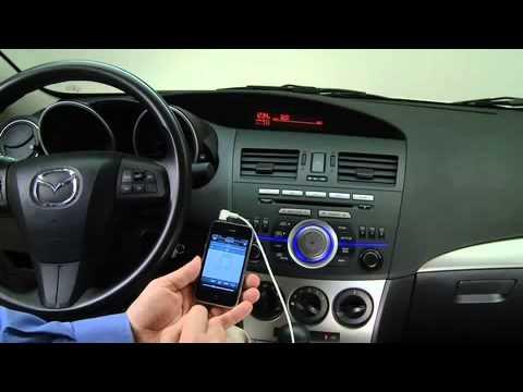 2013 Mazda3 Auxiliary Audio Input Jack Youtube