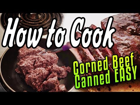 How to make canned corned beef hash