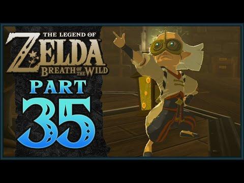 The Legend of Zelda: Breath of the Wild - Akkala Ancient Tech Lab | Part 35