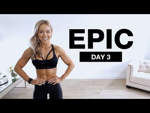 DAY 3 of EPIC | Bodyweight Core & Abs Workout
