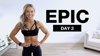 DAY 3 of EṖIC | Bodyweight Core & Abs Workout