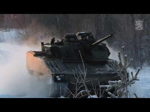 Taisteluammunta – Karjalan prikaatin valmiusyksikkö   Karelia Brigade Live Fire Exercise