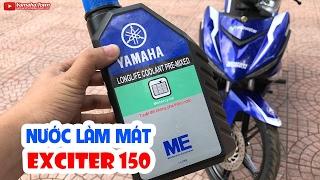 Tầm quan trọng của nước làm mát cho xe máy ▶ Yamaha Exciter 150