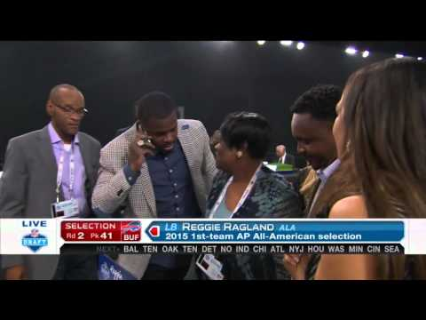 2016 NFL Draft Rd 2 Pk 41 | Buffalo Bills Select LB Reggie Ragland