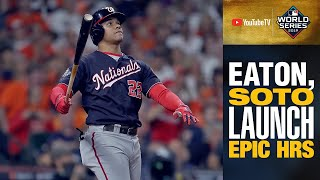Juan Soto, Adam Eaton LAUNCH homers to put Nationals ahead in World Series Game 6
