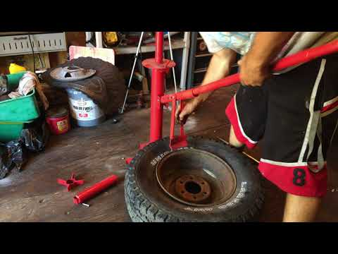 The BEST Harbor Freight Tire Changer Video