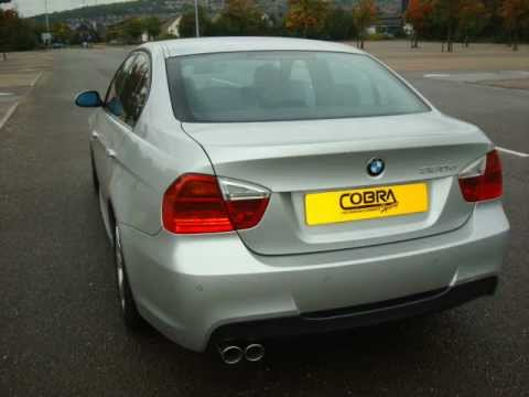 bmw 318d 320d e90 e91 performance exhaust by cobra sport exhausts youtube. Black Bedroom Furniture Sets. Home Design Ideas