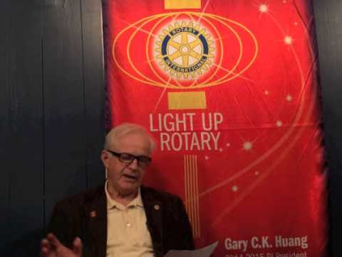 The Rotary Club of Halifax- Bob Power, Past President