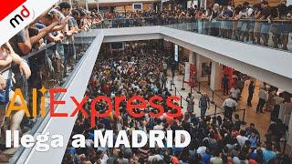 LOCURA en la nueva tienda de ALIEXPRESS en Madrid