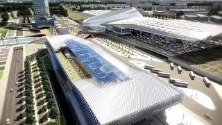 Projet de nouvelle gare centrale ferroviaire d