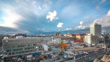 Jetzt gehts in die Tiefe: Bauarbeiten für die 2. Stammstrecke am Münchner Hauptbahnhof