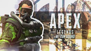 First Game, FIRST WIN! Apex Legends Battle Royale w/ Daequan & Myth