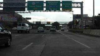 Lincoln Tunnel eastbound