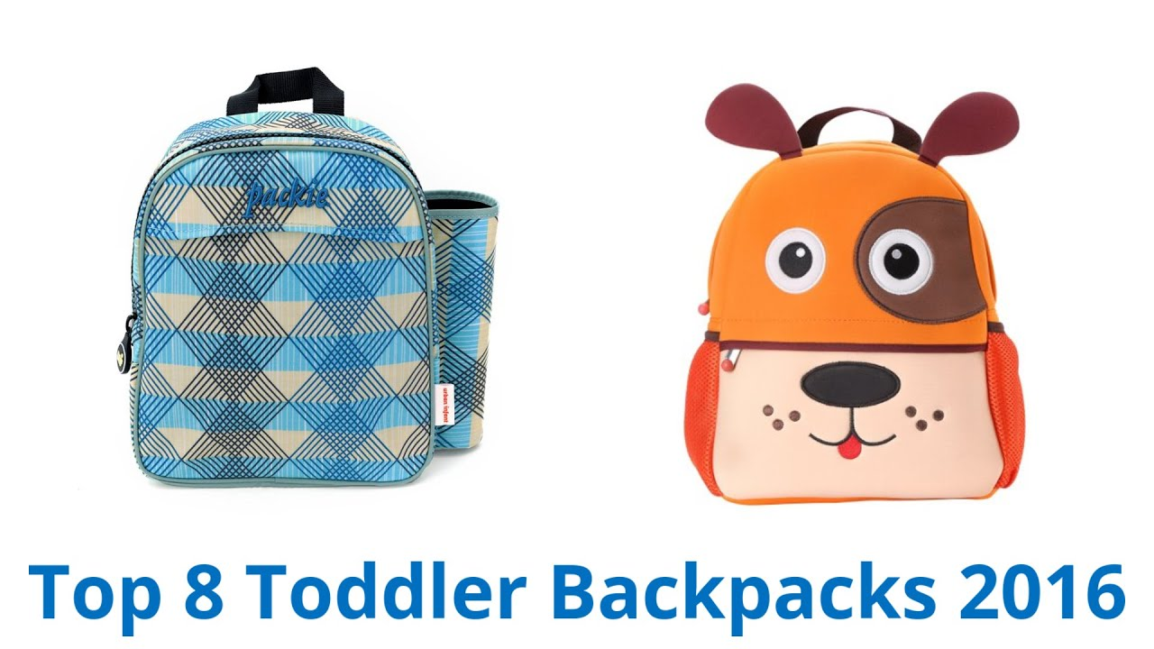 8 Best Toddler Backpacks 2016 - YouTube