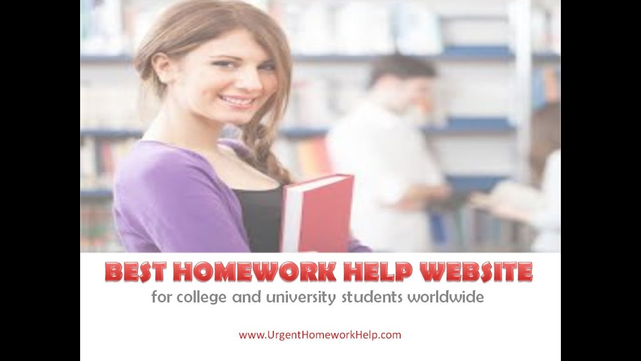 Best websites for homework help