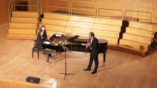 Zheludkov. Two Melodies for clarinet and piano Part 2 On Shore