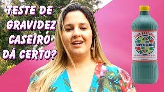 Teste caseiro de Gravidez da água sanitária dá certo? | Camila Grillo | Mundo Materno | #015