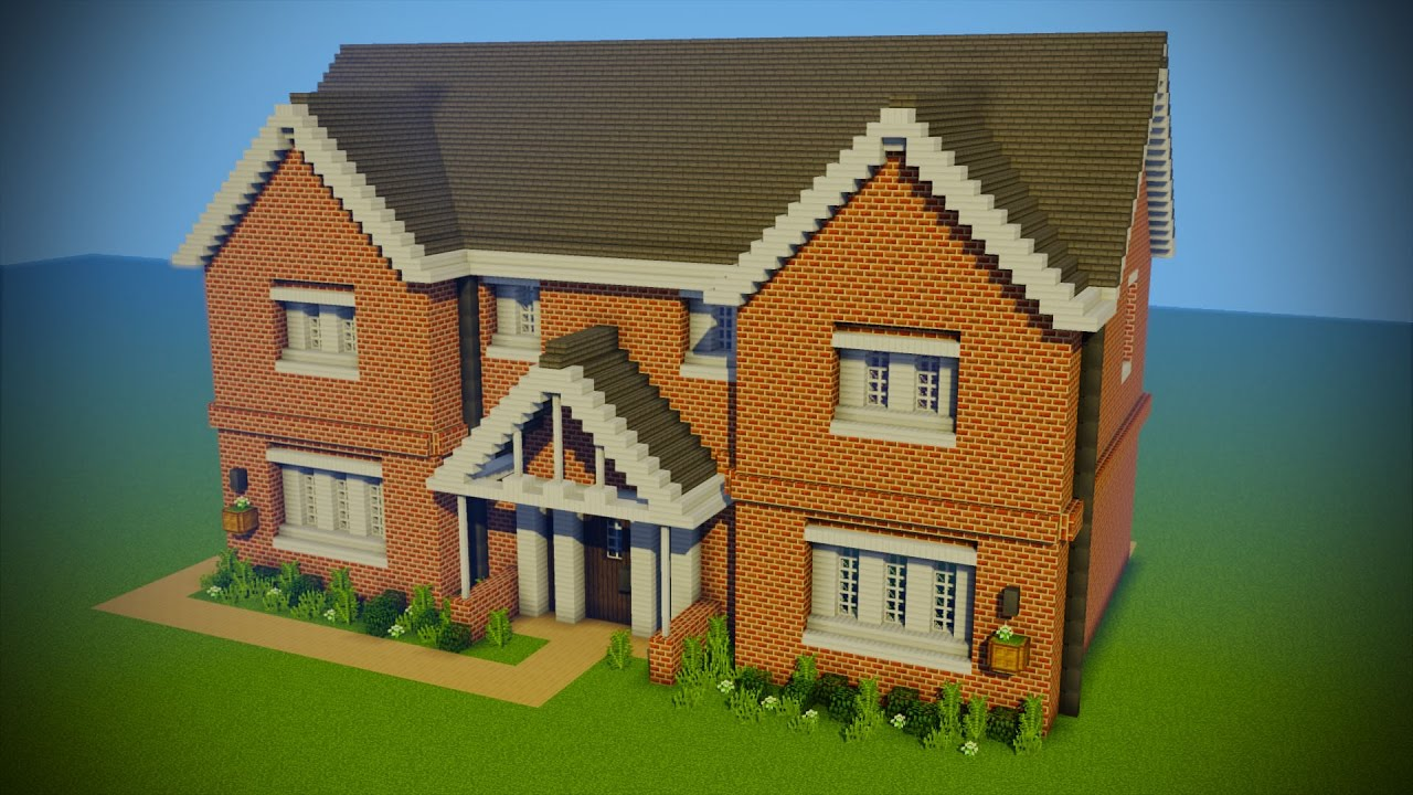 Building my new house in minecraft youtube Build my home