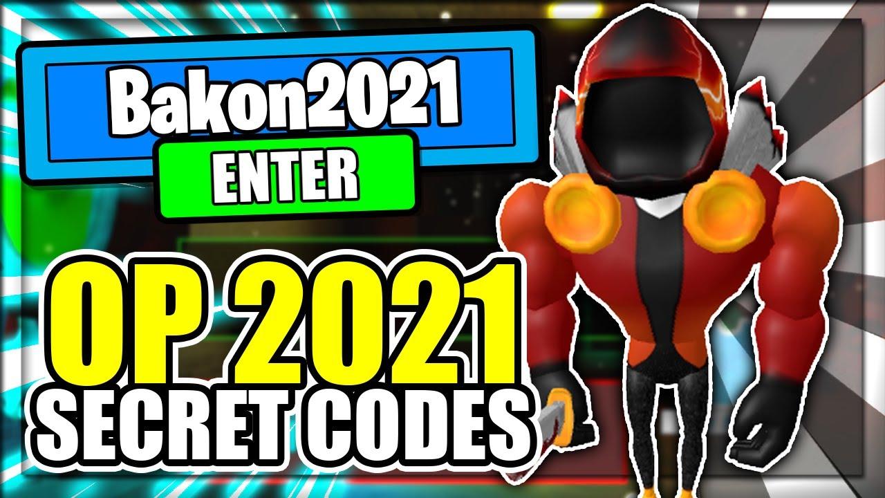 (2021) ALL *NEW* SECRET OP CODES! Bakon Roblox