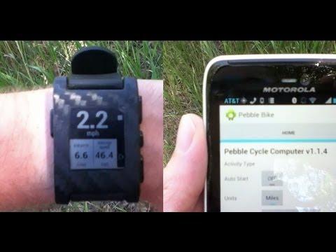 Pebble Bike App