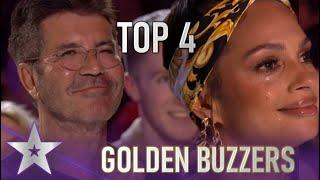 TOP 4 GOLDEN BUZZERS On Britain's Got Talent 2020!