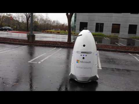 Nightscope Robot Preventing Parking Lot Malfeasance