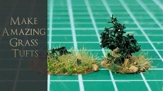 Make Amazing Grass Tufts