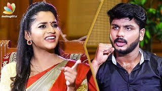 Abarnithi's Angry Reaction to Negative Questions | Interview | Arya, GV Prakash | EVM