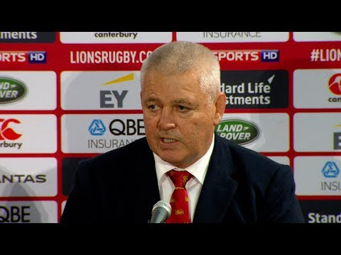 Press Conference: Gatland & Warburton react to Lions 24-21 win | Lions NZ 2017