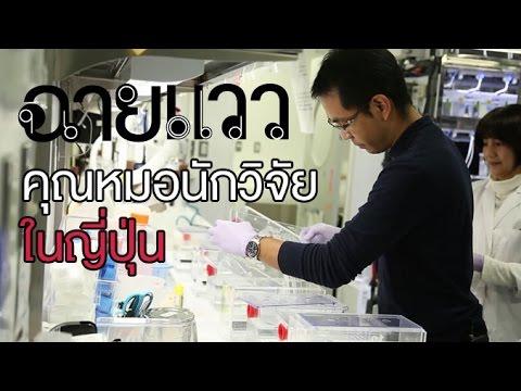 ฉายแวว [by Mahidol] คุณหมอนักวิจัยในญี่ปุ่น