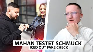 Justin reagiert auf Mahan's Iced Out FAKE Check.. | Reaktion
