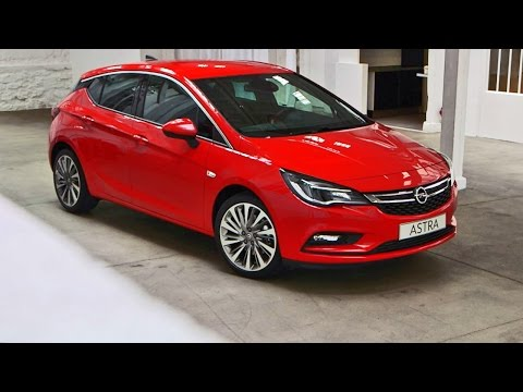 Opel Astra (2016) Features, Interior,...