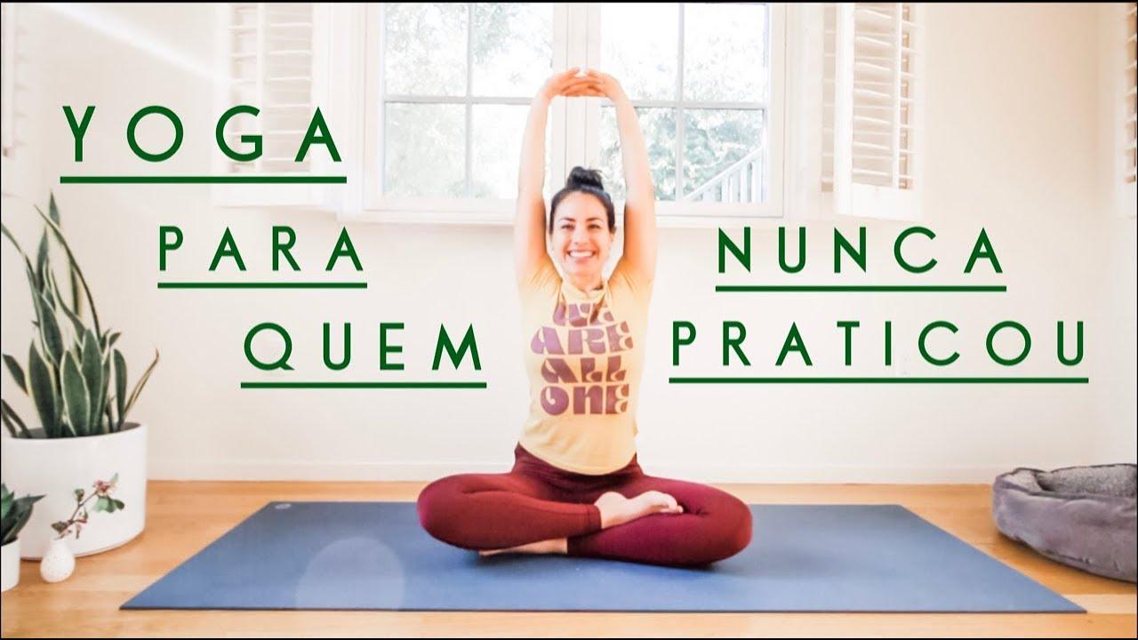 Yoga para Quem Nunca Praticou | 10Min - Pri Leite