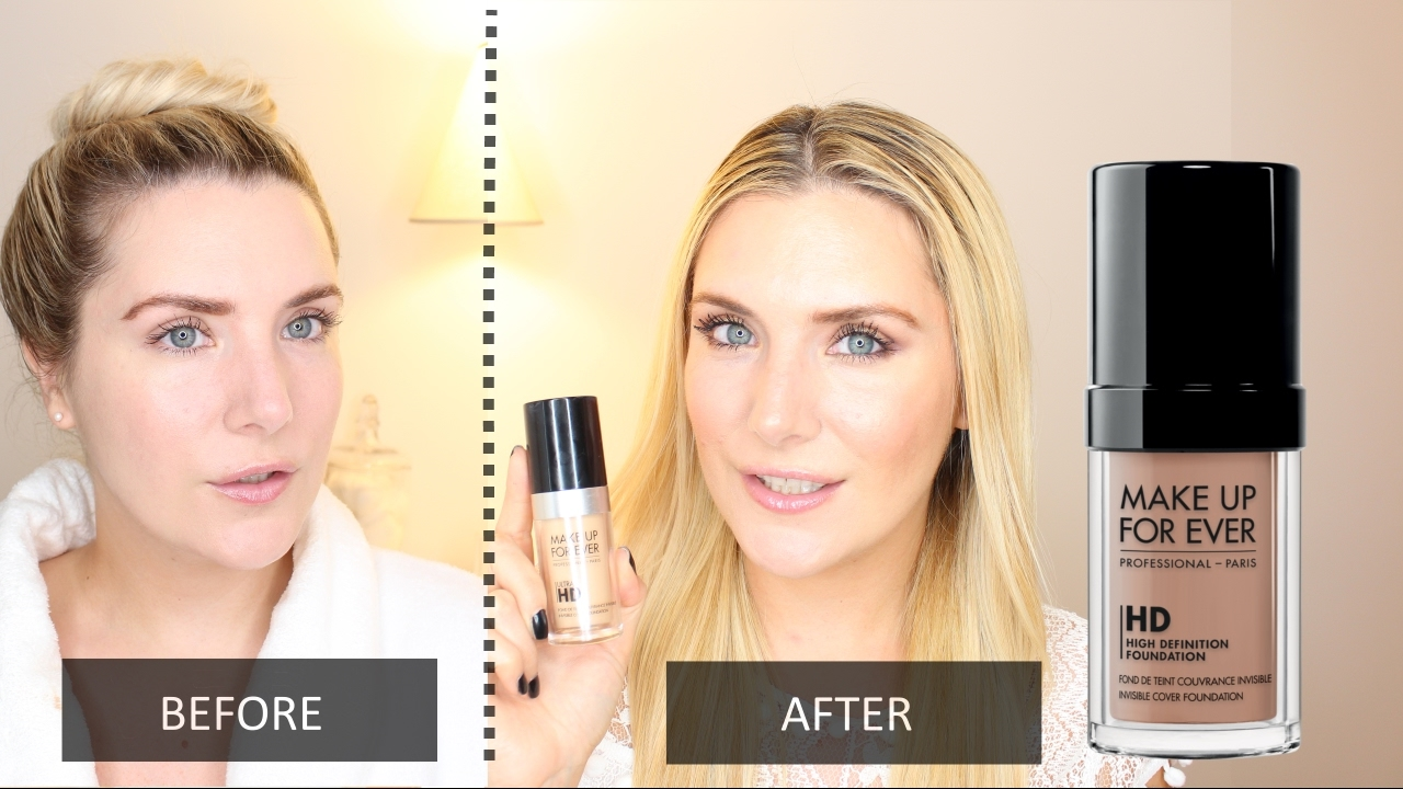 f6a6fd07fdbd MAKEUP FOREVER ULTRA HD INVISIBLE COVER FOUNDATION FIRST IMPRESSIONS REVIEW