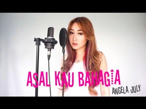 Asal Kau Bahagia - Armada  (vocal harp cover by Angela July)
