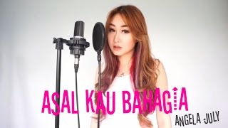 Asal Kau Bahagia Armada vocal harp cover by Angela July