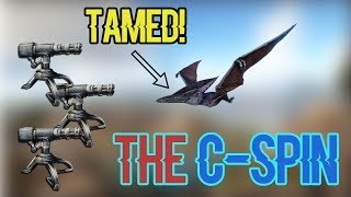 C-Spin Raid With A Tamed Ptera? | Small Tribes(Official PVP) Ep2 - ARK: Survival Evolved