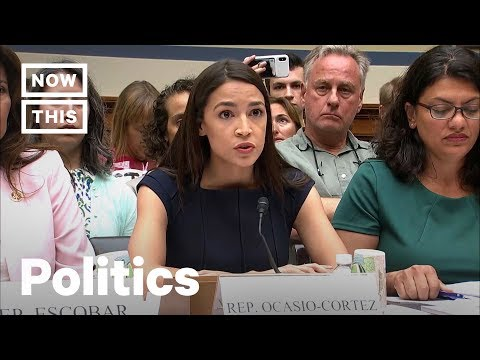 AOC Exposes 'Manufactured Cruelty' at Migrant Detention Camps | NowThis