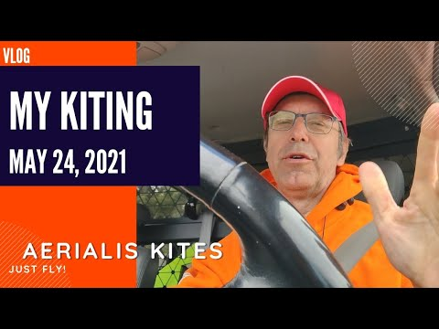 My Kiting - May 24th 2021 - I Can See Some Blue Sky