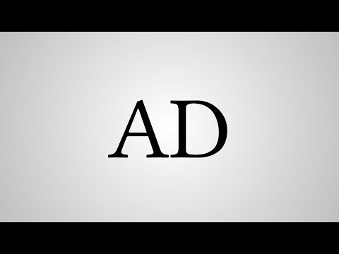 """What Does """"AD"""" Stand For? from YouTube · Duration:  23 seconds"""