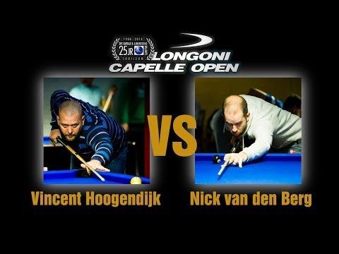 10 BALL 2014 - Longoni Capelle Open - Nick Van den berg vs Vincent Hoogendijk
