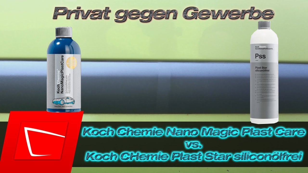 koch chemie plast star vs koch chemie nano magic plast. Black Bedroom Furniture Sets. Home Design Ideas
