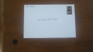An Anonymous Letter to Anyone - Blind Audacity