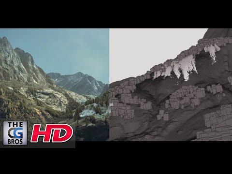 """CGI & VFX Breakdowns """"BMW The Wave: Waterfalls Shot"""" - by Oscar González Diez"""